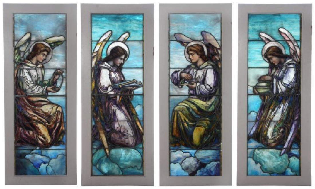 4 J&R Lamb Studios Stained Glass Windows