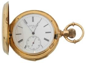 18K Thiebaud Minute Repeater Pocket Watch