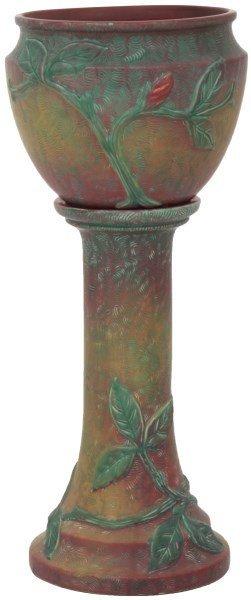 Japanese Shibayama Silver, Enamel Vase