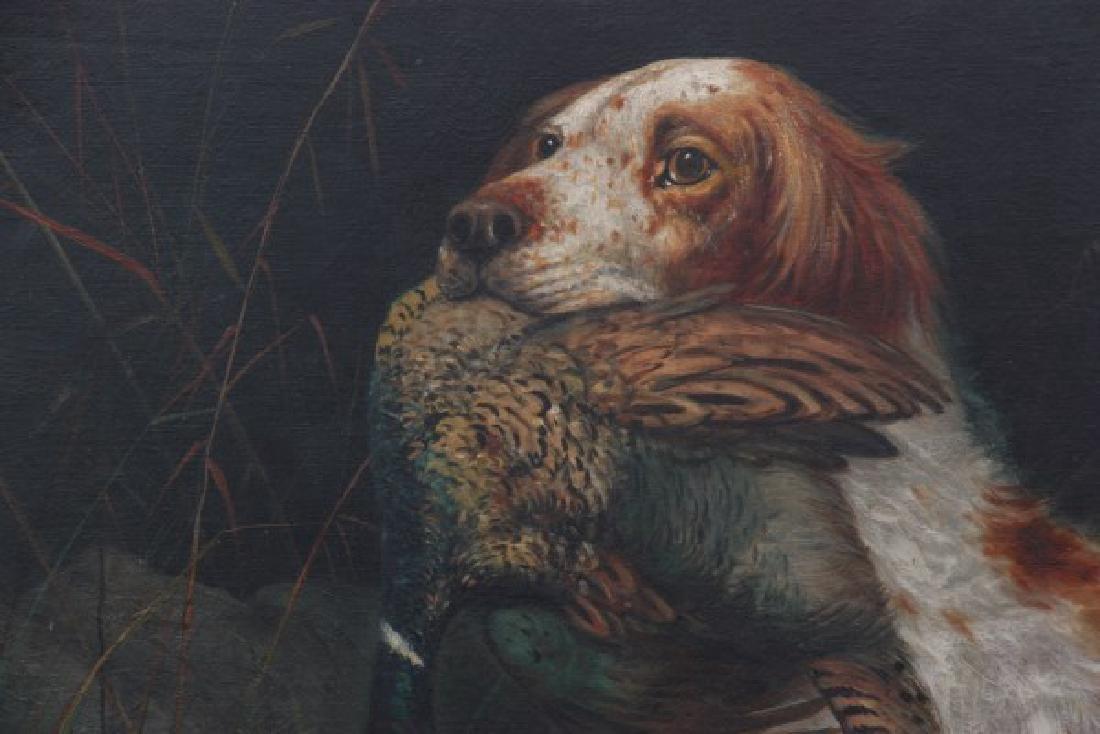 H.H. Cross O/C Hunting Dog Portrait - 2