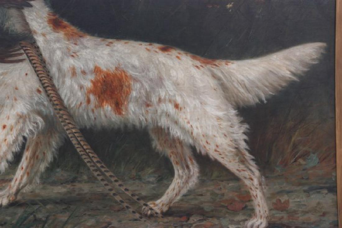 H.H. Cross O/C Hunting Dog Portrait - 3