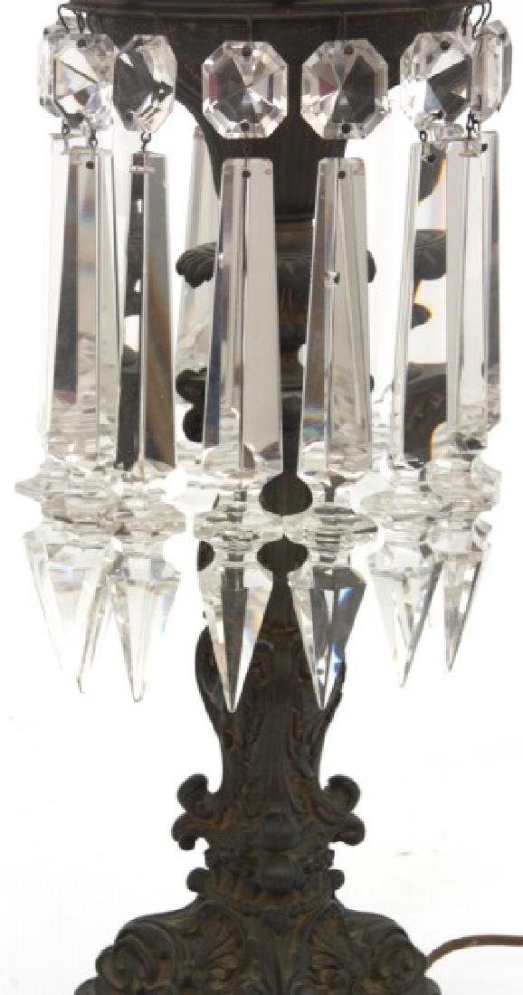 Bronze Astral Table Lamp with Prisms - 4