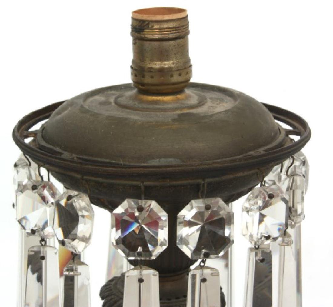 Bronze Astral Table Lamp with Prisms - 5