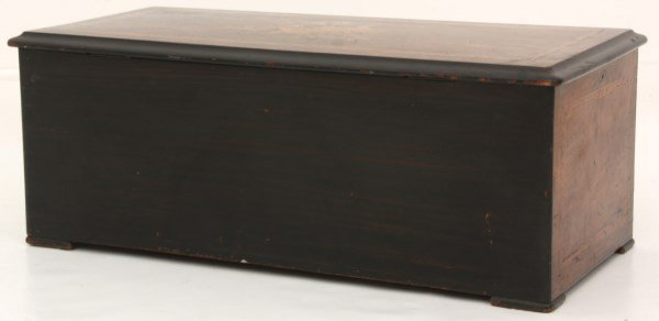 Nicole Freres 9 Bell Inlaid Music Box - 9