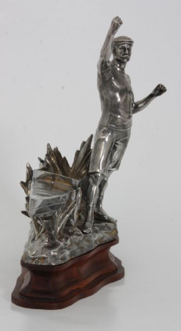 Silver Plated Boat Race Trophy - 5