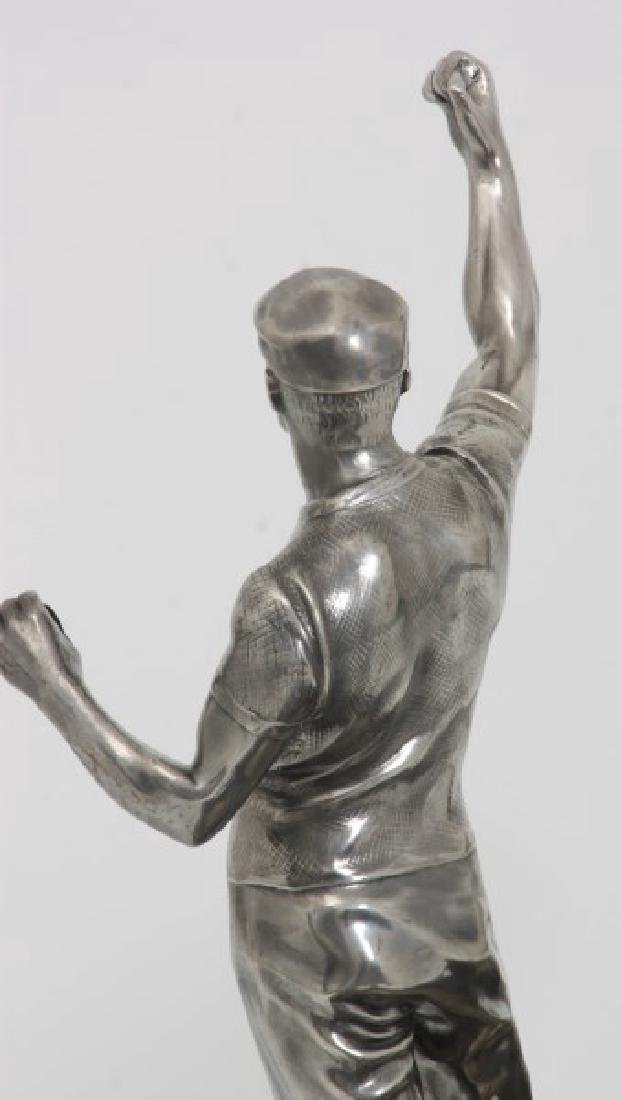Silver Plated Boat Race Trophy - 8