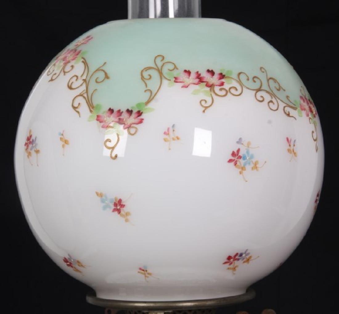 Attr. Dresden Porcelain & Bronze Piano Lamp - 6