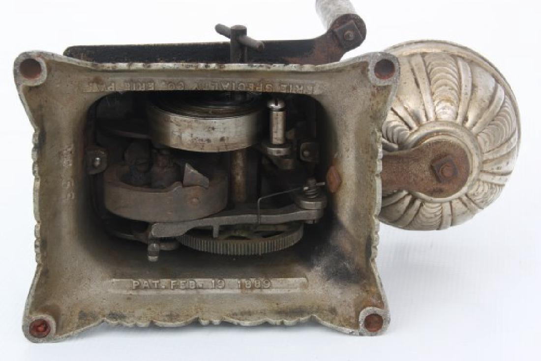 Cast Iron Counter Top Cigar Cutter & Lamp - 7
