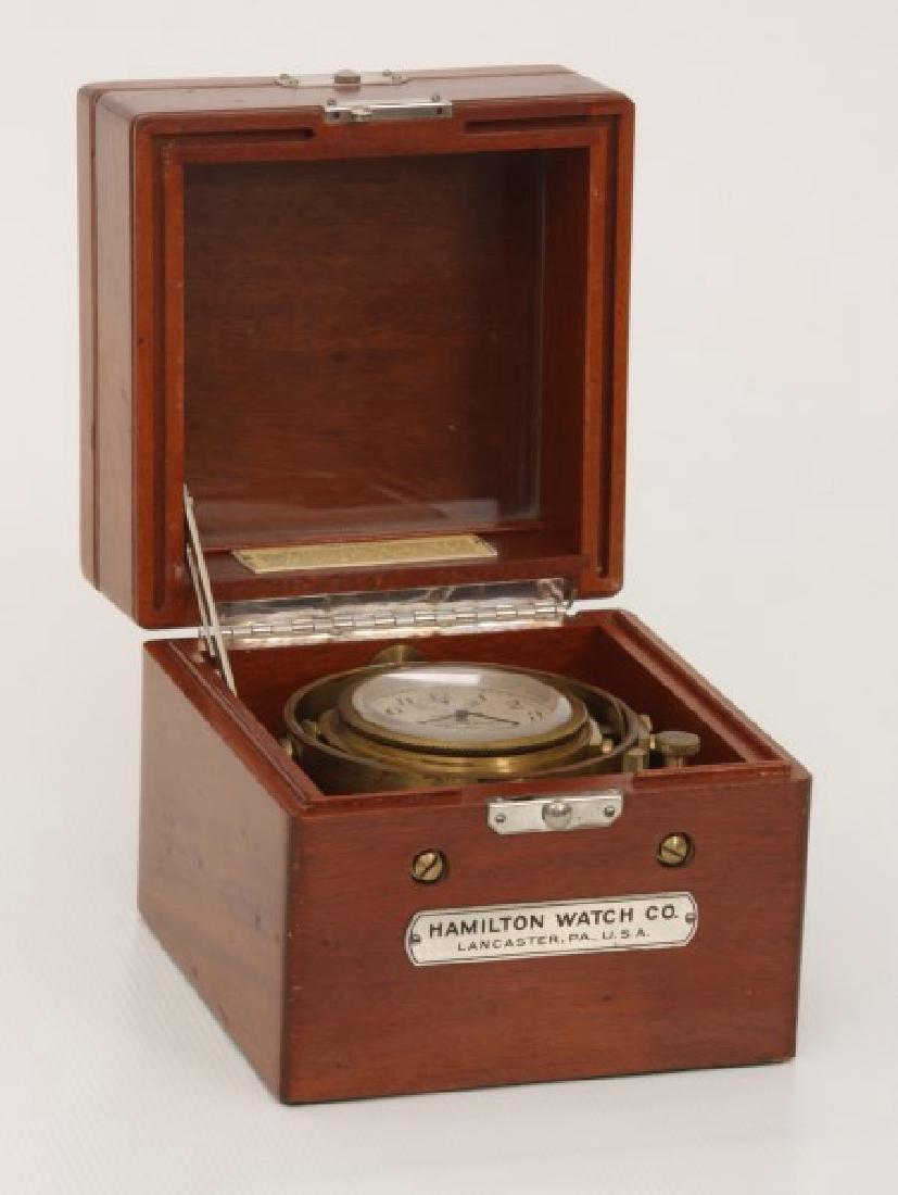 Hamilton Model 22 Ships Chronometer - 3