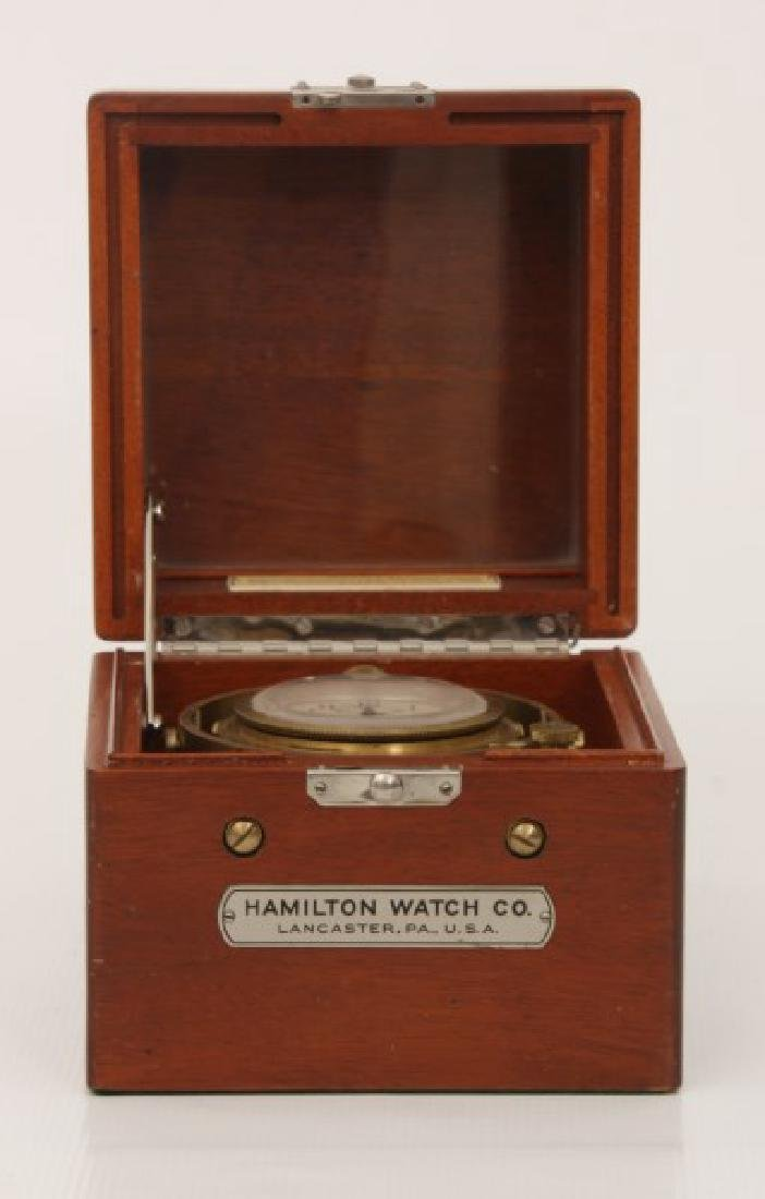 Hamilton Model 22 Ships Chronometer - 4