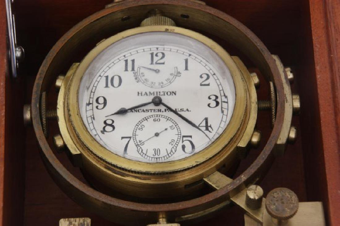 Hamilton Model 22 Ships Chronometer - 6