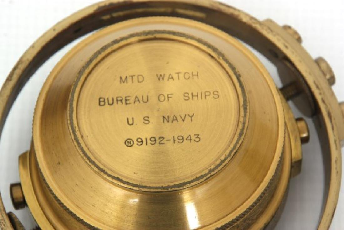 Hamilton Model 22 Ships Chronometer - 7