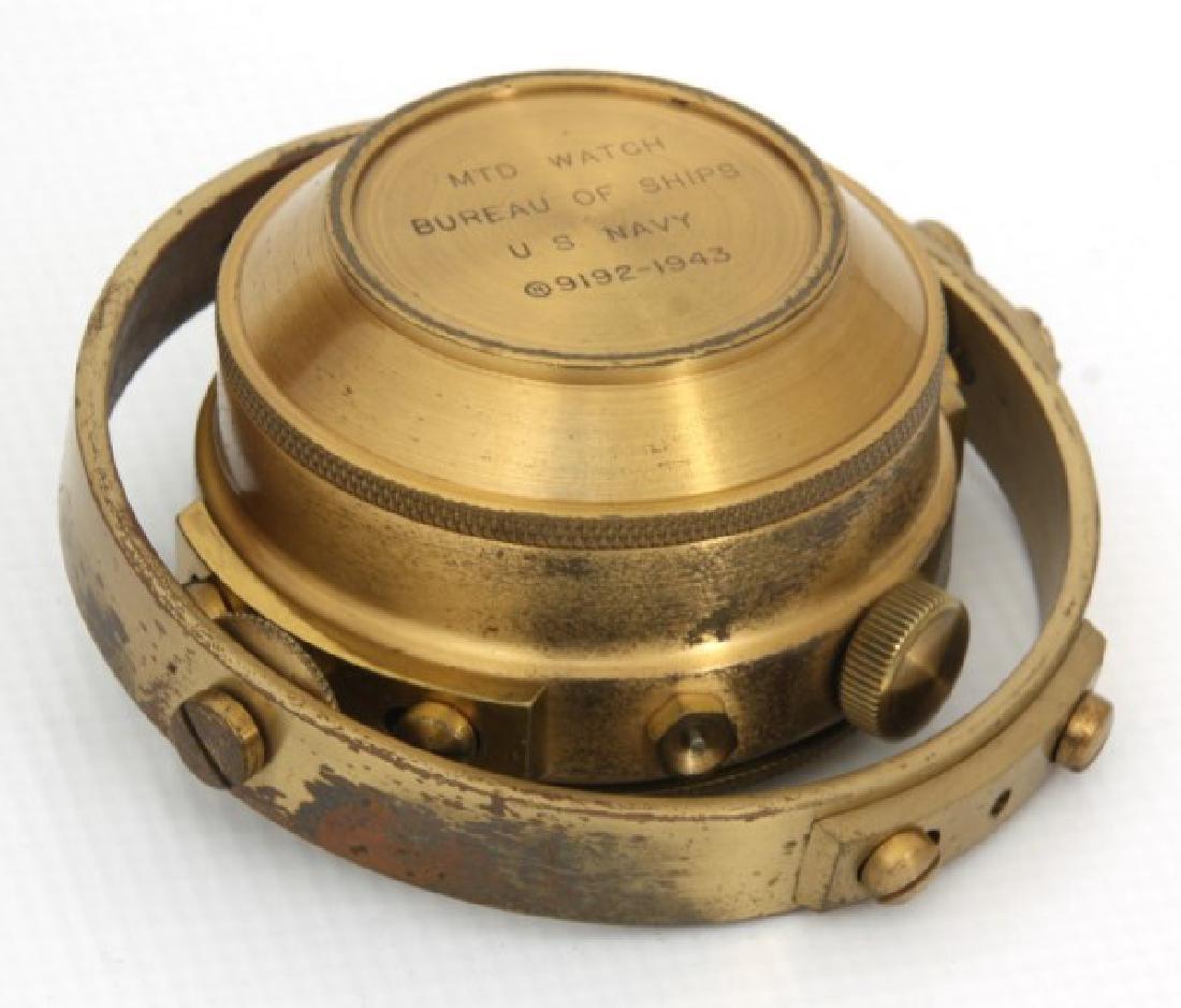 Hamilton Model 22 Ships Chronometer - 8