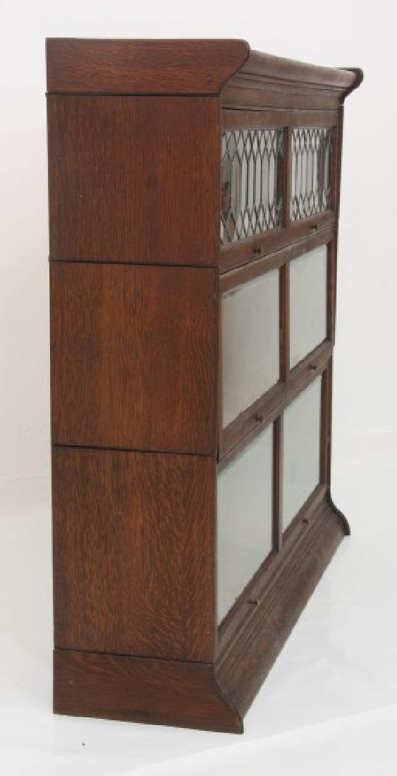Grand Rapids Oak Double Stacking Bookcase - 8