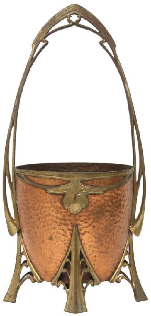 Carl Deffner Brass & Copper Champagne Cooler