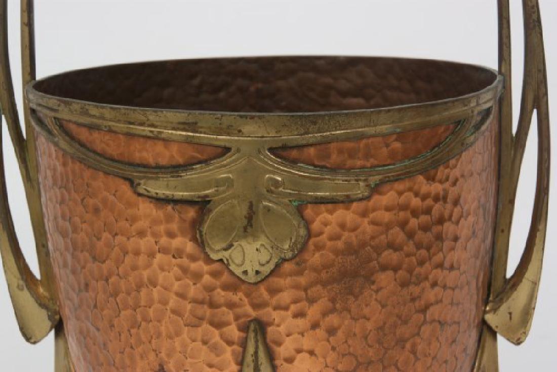 Carl Deffner Brass & Copper Champagne Cooler - 3