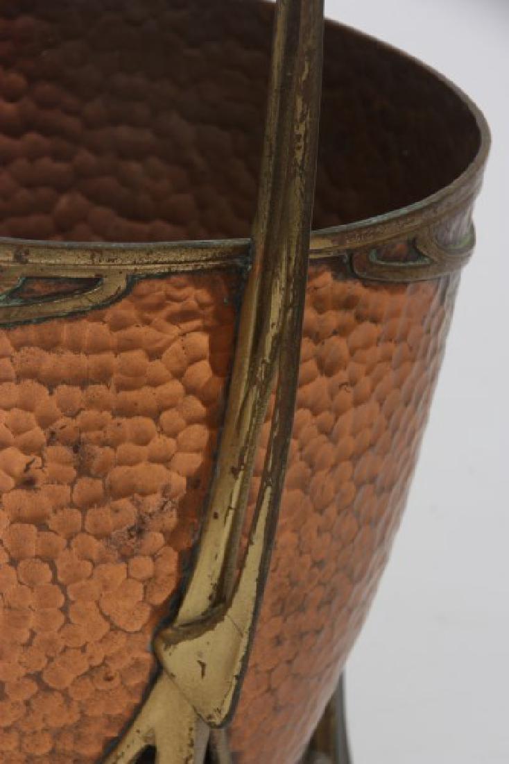 Carl Deffner Brass & Copper Champagne Cooler - 5