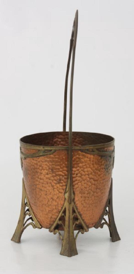 Carl Deffner Brass & Copper Champagne Cooler - 6