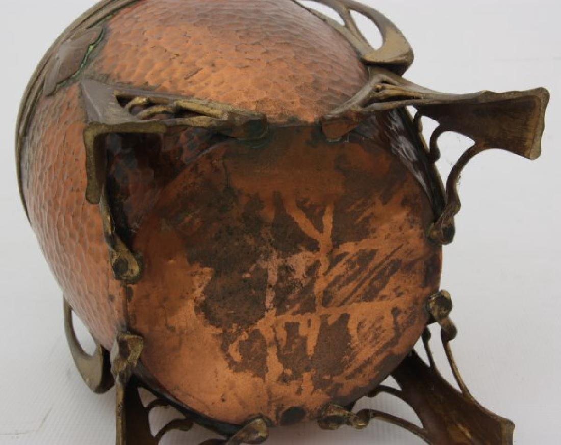 Carl Deffner Brass & Copper Champagne Cooler - 8