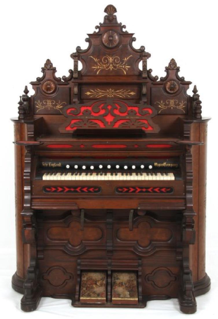 New England Organ Co. Pump Organ
