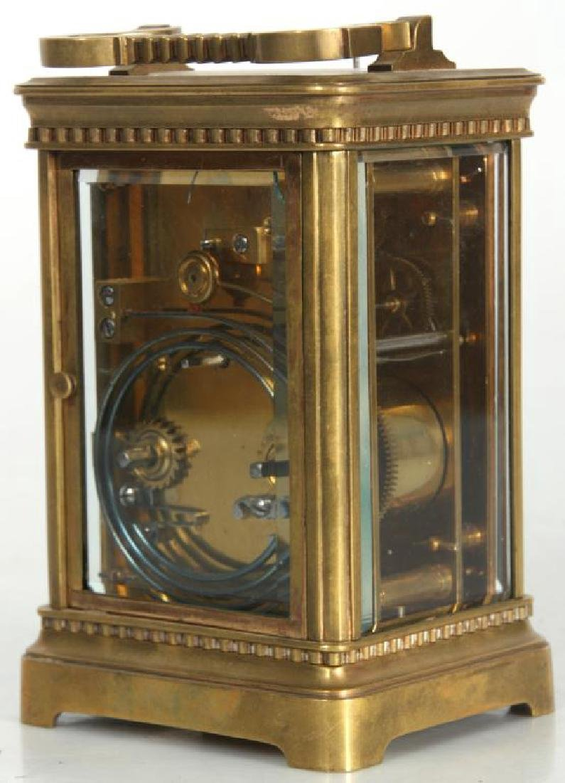 Hour Repeater Brass Carriage Clock - 4