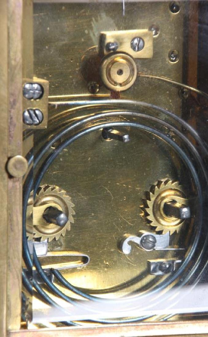 Hour Repeater Brass Carriage Clock - 6