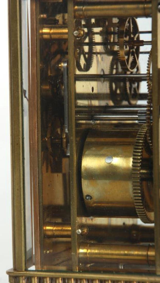 Hour Repeater Brass Carriage Clock - 7