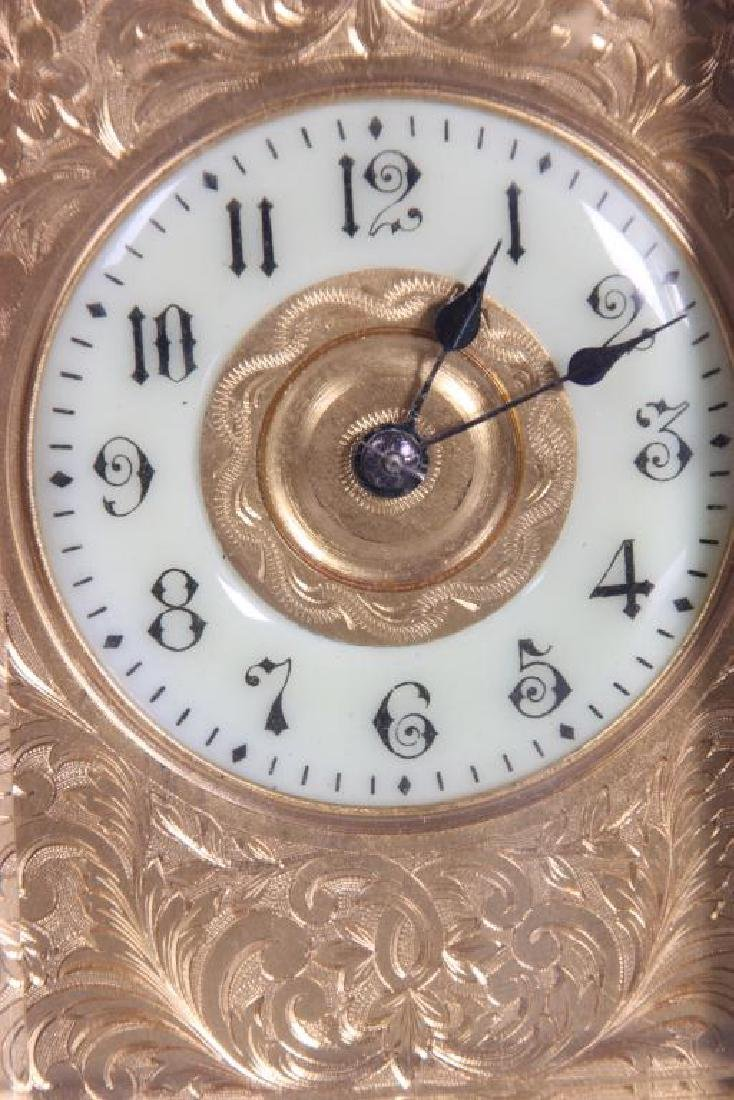 Hour Repeater Brass Carriage Clock - 8