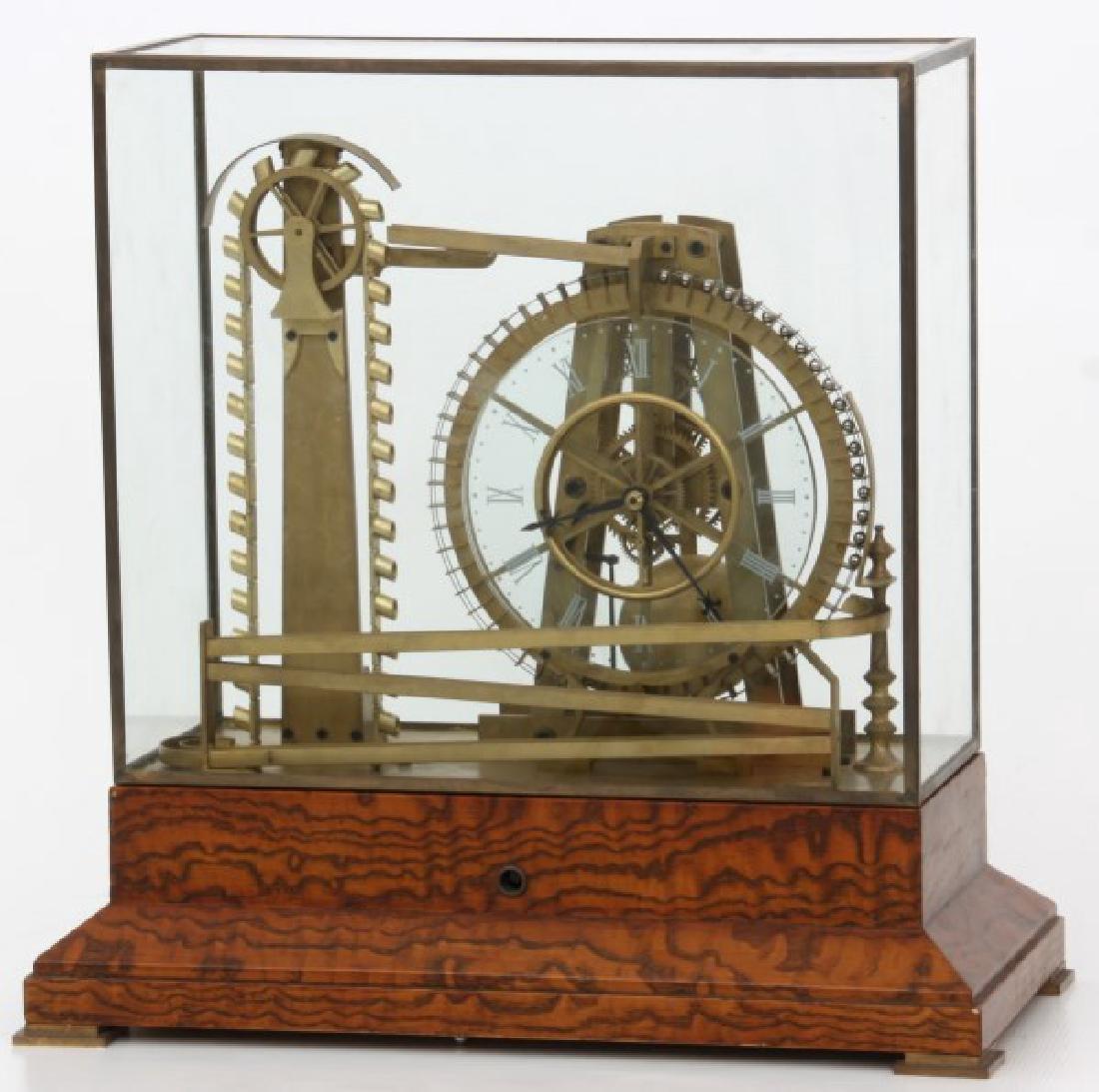 Animated Water Wheel Skeleton Clock (Replica)