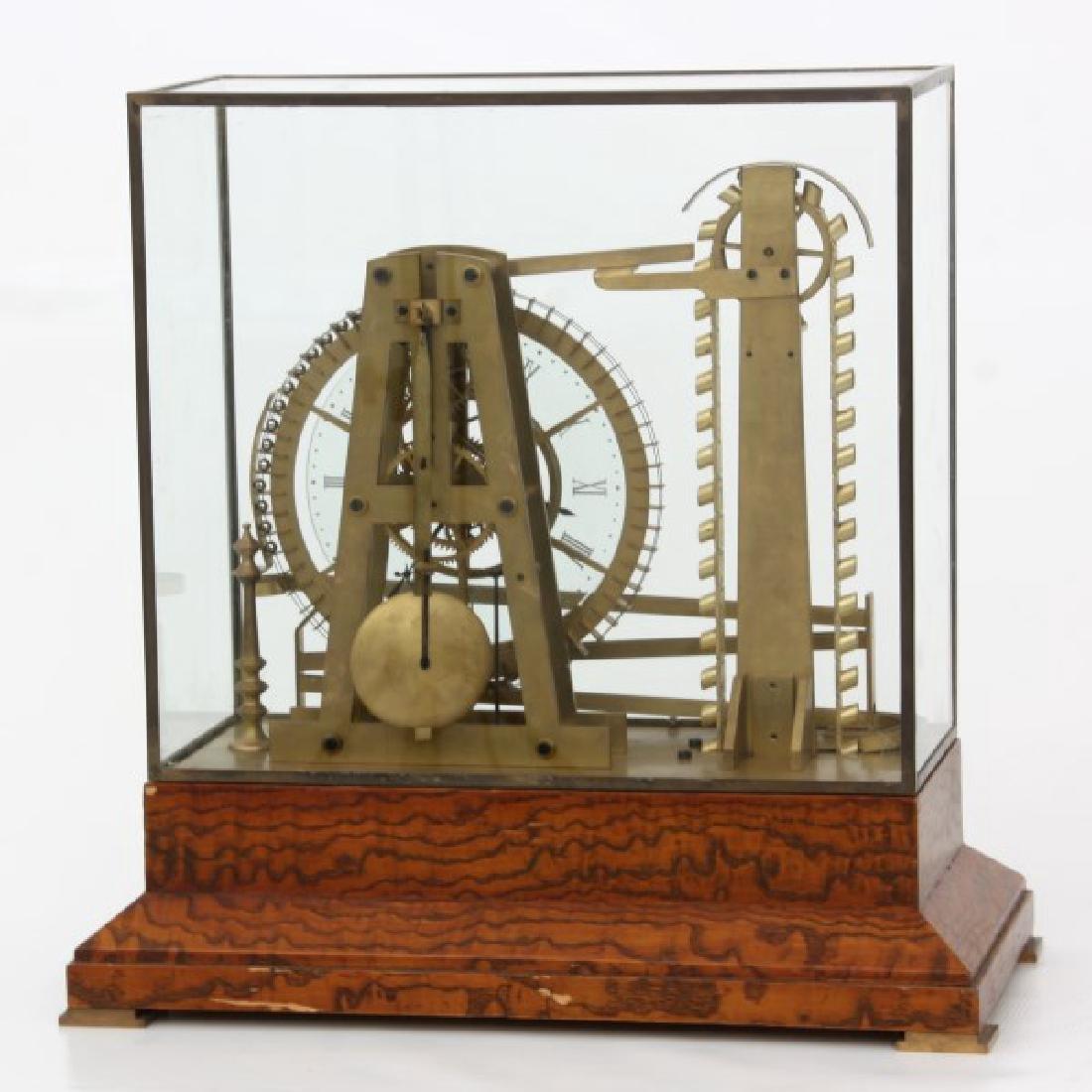 Animated Water Wheel Skeleton Clock (Replica) - 3