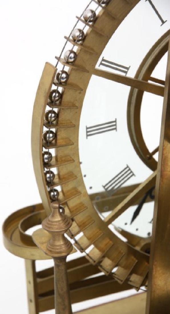 Animated Water Wheel Skeleton Clock (Replica) - 6