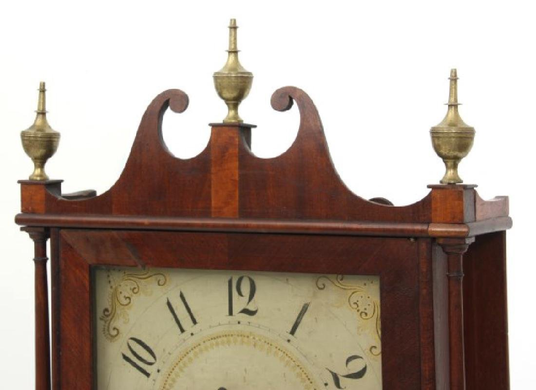 Eli Terry Pillar & Scroll Mantle Clock - 4