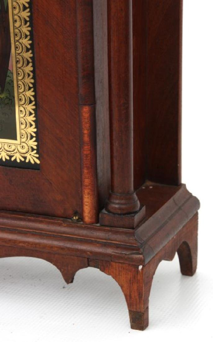 Eli Terry Pillar & Scroll Mantle Clock - 6