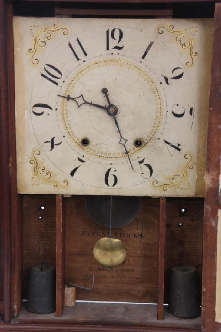 Eli Terry Pillar & Scroll Mantle Clock - 8