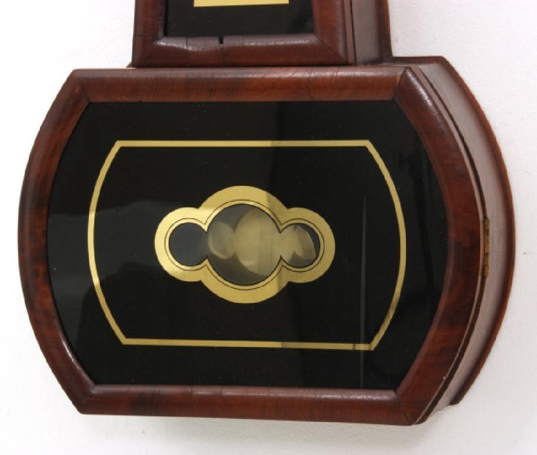 Tosely Mahogany Massachusetts Banjo Clock - 5