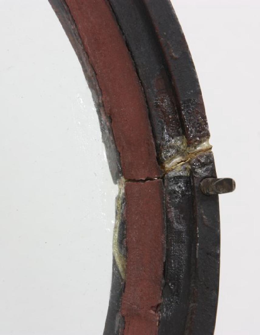 Tosely Mahogany Massachusetts Banjo Clock - 7