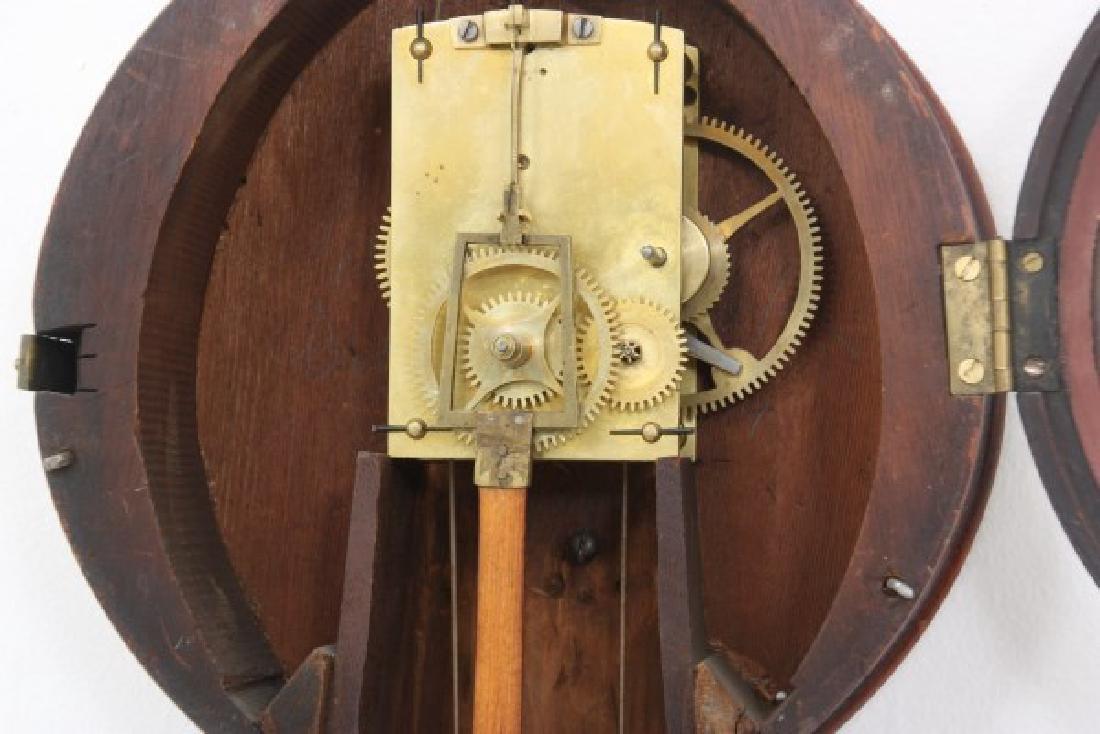 Tosely Mahogany Massachusetts Banjo Clock - 9