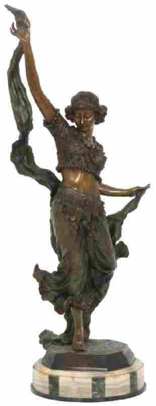 Affortunato Gory Bronze Sculpture – Gypsy Dancer