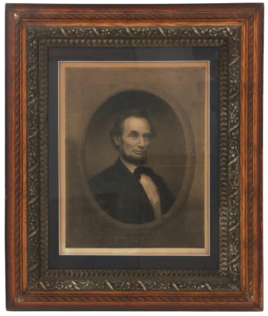 Abraham Lincoln Engraving - W.E. Marshall