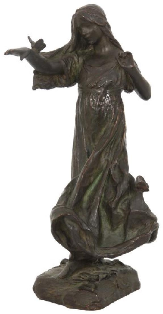 Bessie Potter Vonnoh Sculpture – Butterflies