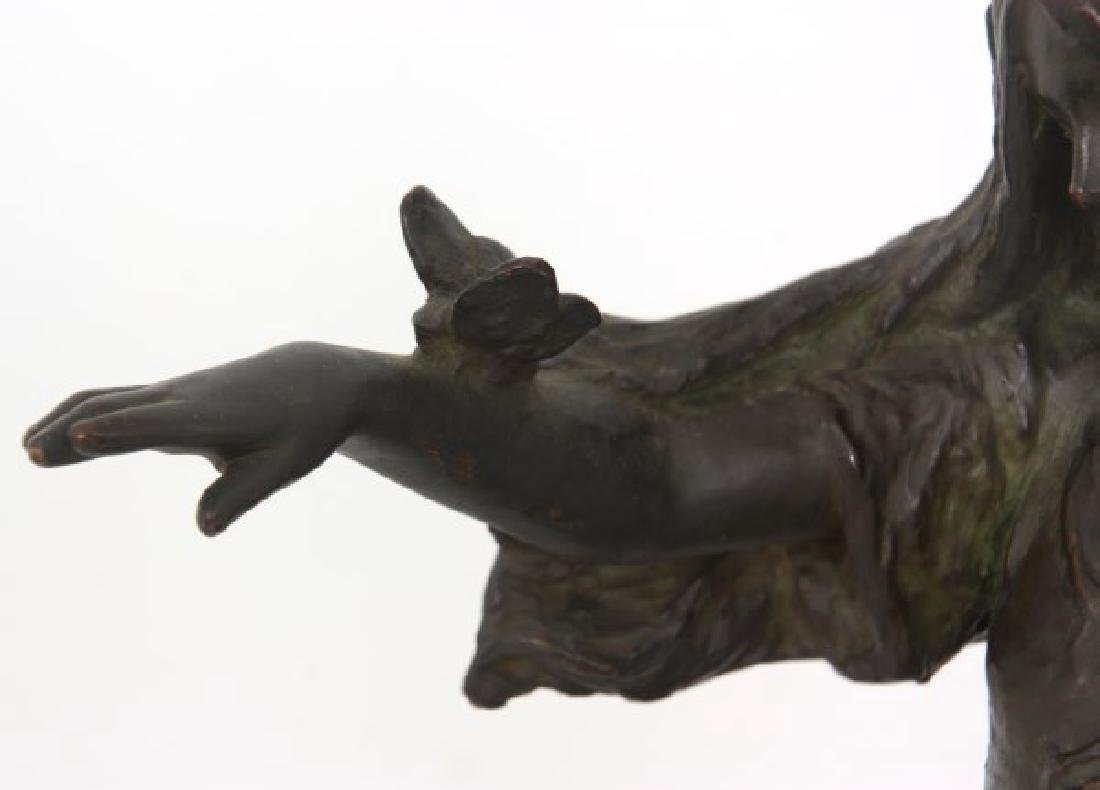 Bessie Potter Vonnoh Sculpture – Butterflies - 6