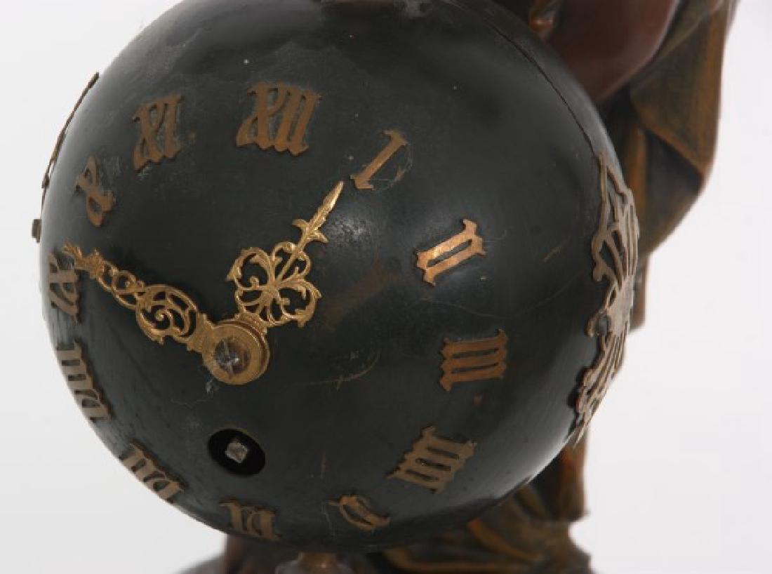 Figural Torsion Pendulum Mystery Clock - 2