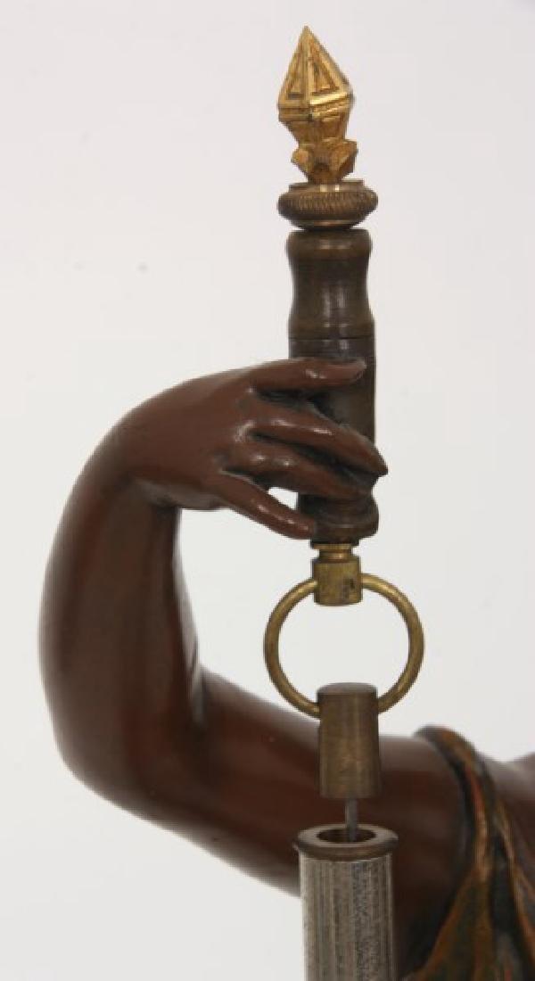 Figural Torsion Pendulum Mystery Clock - 7