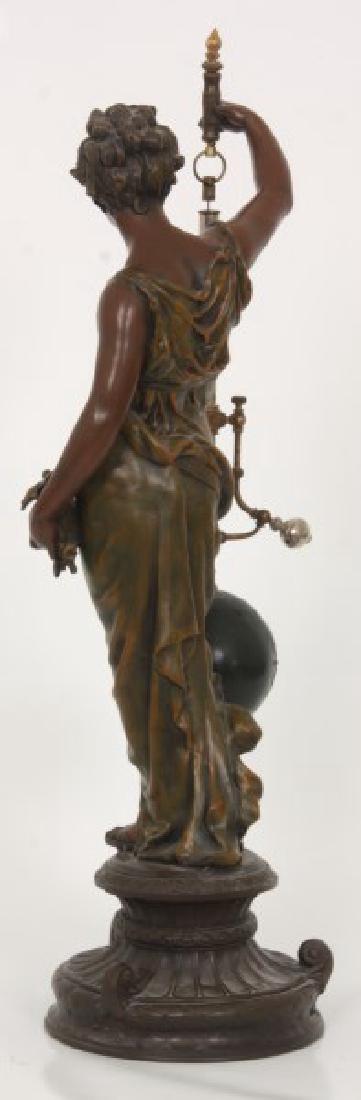 Figural Torsion Pendulum Mystery Clock - 9