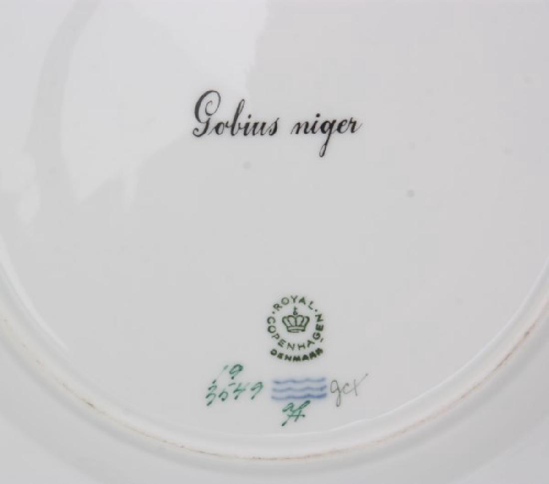 12 Royal Copenhagen Flora Danica Fish Plates - 10
