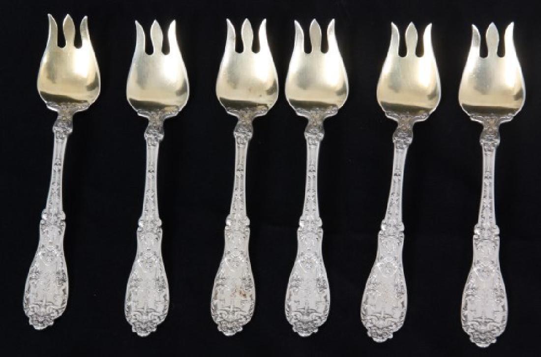 184 Pcs. Gorham Sterling Silver Flatware – Paris - 7