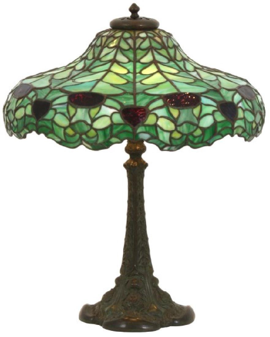 20 in. Duffner & Kimberly Thistle Table Lamp