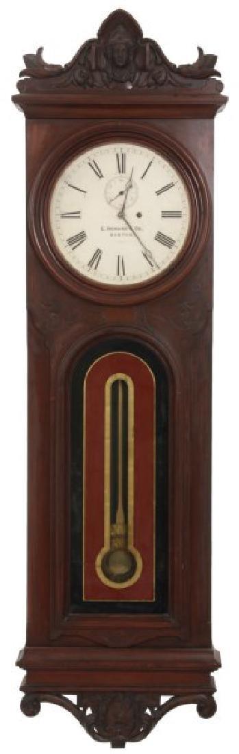 Rare E. Howard No. 38 Wall Regulator Clock
