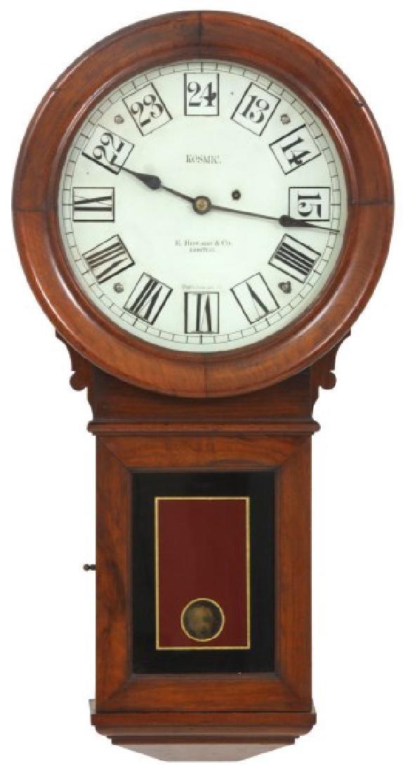E. Howard No. 70 Kosmic Wall Regulator Clock