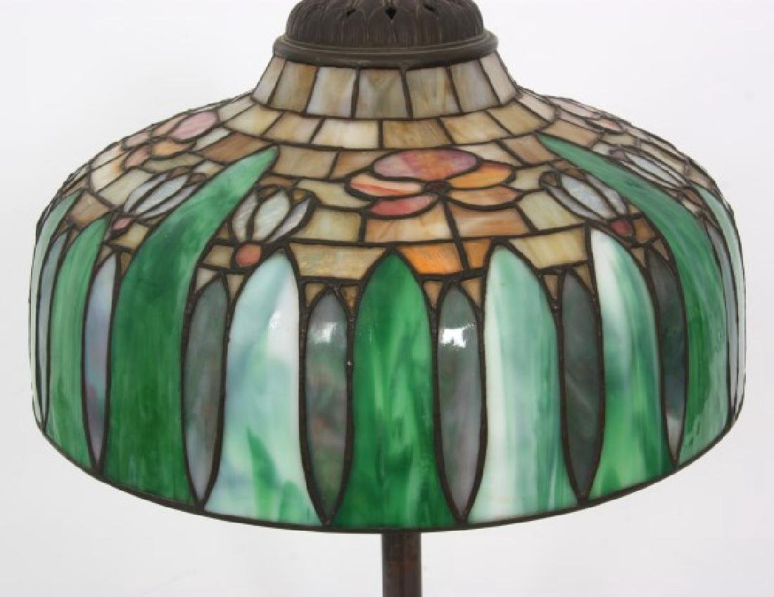 14 in. Signed H.G. Cleveland Table Lamp - 3